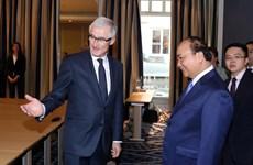 政府总理阮春福会见法兰德斯大区政府首席大臣