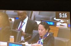 越南在联合国大会分享消除贫困经验