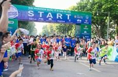 2600多名运动员参加河内国际遗产马拉松赛