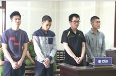 四名中国疑犯因伪造银行卡在越非法取款而获刑