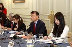 越南与阿根廷加强经贸合作