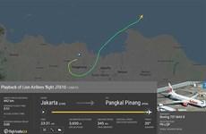 印尼一架客机坠毁 机上载有188人