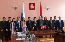 河内市代表团对俄罗斯和捷克共和国进行工作访问