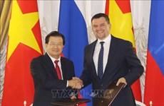 越俄政府间经贸科技合作联合委员会第21次会议召开