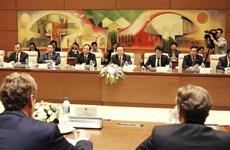 国会副主席冯国显会见欧洲议会渔业委员会代表团