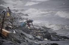 """菲律宾台风""""玉兔""""造成严重影响"""