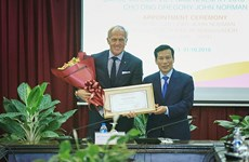 澳大利亚传奇高尔夫球手格雷•诺曼成为越南旅游大使
