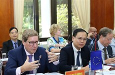 """欧洲委员会:将促进解决越南渔业""""黄牌""""警告问题"""
