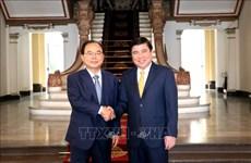 越南胡志明市与韩国釜山市加强合作共促发展