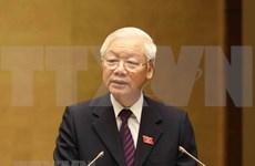 越南十四届国会第六次会议:提高越南在国际和地区舞台上的地位