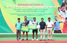 2018年越南男网F5未来赛:李黄南摘银
