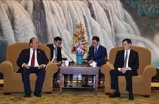 越南政府总理阮春福会见上海市市长