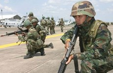 泰国军事演习发生事故  致1亡 7伤