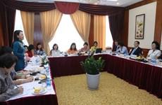 越南妇女联合会主席与朝鲜社会主义妇女同盟加强合作