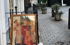 画家阮私严和裴春派作品展会在伦敦举行