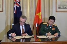 越南与澳大利亚签署《防务合作联合愿景声明》