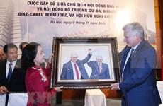 进一步推动越南与古巴特殊团结关系发展