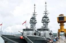印度与新加坡举行大规模海上军事演习