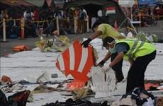 印尼客机坠海事件:搜救结束 一黑匣子仍未寻获
