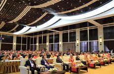 第一届越老柬佛教高层会议在老挝举行