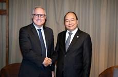 东盟峰会:越南政府总理阮春福会见新加坡胜科工业集团领导
