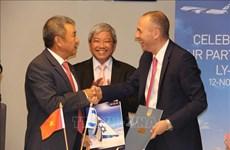 越南航空公司与以色列航空签署联营合作协议