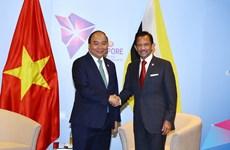 东盟峰会:政府总理阮春福会见文莱和马来西亚领导人