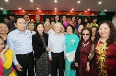 越共中央总书记、国家主席阮富仲出席河内市二征夫人郡全民族大团结日活动