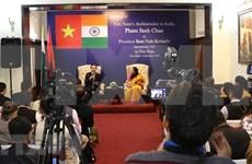越南驻印度大使馆就印度总统访越之旅举行新闻发布会