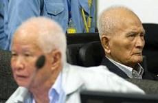 柬埔寨特别法庭判处红色高棉前两名领导人犯有种族灭绝罪
