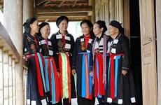 北江省高兰族妇女的传统服装