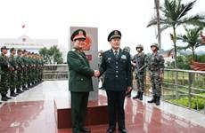 2018年第五次越中边境国防友好交流活动正式启动