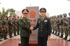 越中边境国防友好交流活动:促进越中防务关系发展