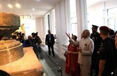 印度总统造访岘港市和广南省名胜古迹