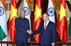 阮春福会见印度总统科温德