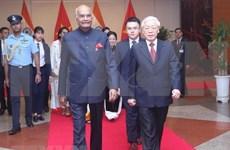 印度总统拉姆·纳特·科温德圆满结束对越的国事访问
