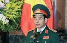 越南人民军高级军事代表团对泰国进行正式访问