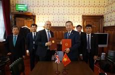 越英两国签署预防打击拐卖人口犯罪合作备忘录