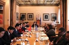 河内市扩大与埃及 、希腊和阿联酋的合作关系
