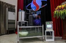 越南首次成功研制海水雪花冰制冰机