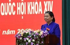 党和国家领导开展选民接待活动
