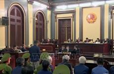DAB损失3.6万亿越盾一案:陈方平和潘文英武出庭受审