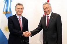阿根廷和新加坡致力于推动双边贸易增长
