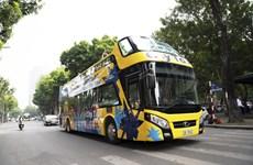 河内市双层巴士Vietnam Sightseeing和升龙-河内市内旅游线路亮相