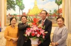 越南驻马来西亚大使馆祝贺老挝国庆43周年