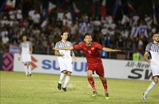AFF Suzuki Cup 2018:越南球队客场完胜菲律宾球队 为进入决赛铺平道路