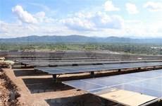 越南嘉莱省49兆瓦的太阳能发电厂竣工