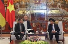 越南与德国深化合作关系  共谋未来发展