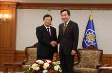 政府副总理郑廷勇:越南一向重视与韩国的关系