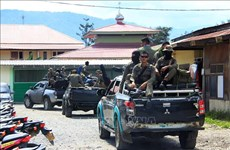 印尼巴布亚袭击导致31名工人死亡